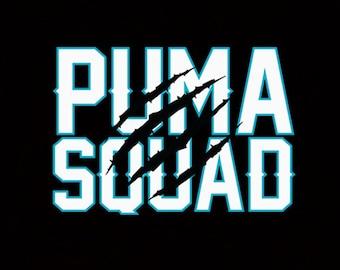Puma Squad Sticker