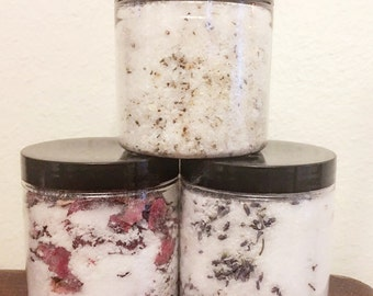 Infused all natural bath salts