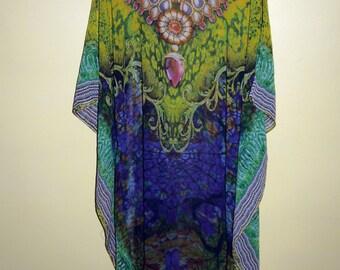 Ladies  Kaftan Gowns Bridesmaid Maxi Dress Women Caftan