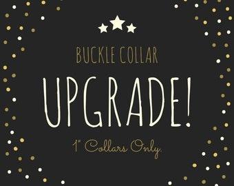 Buckle Collar Upgrade!