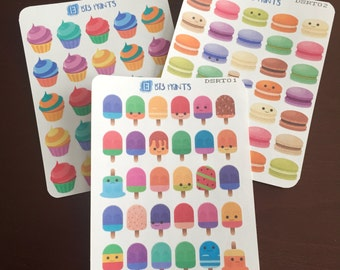 Desserts - Popsicles Macarons Cupcakes Hero Popsicles