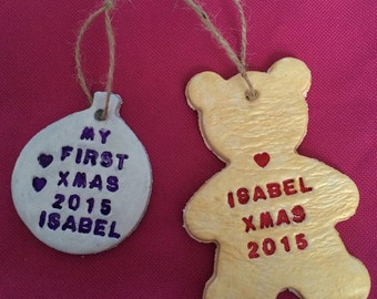 Personalized Christmas decorations/gifts