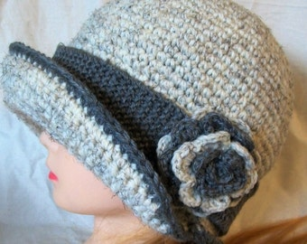 Crochet Cloche - Flapper Hat
