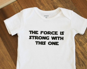 The Force is Strong with This One, Star Wars One-piece