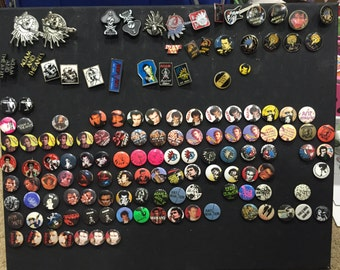 Adam Ant Buttons and Pins