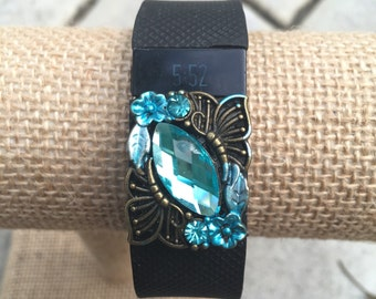 Buy2Get1Free...Fitbit Bling Charm Accessory