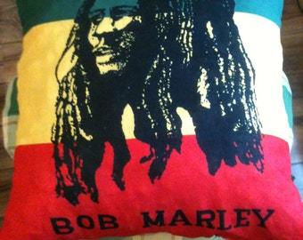 Red,Gold,Green BOB MARLEY cushion