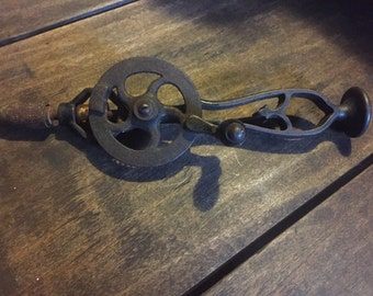 Antique Hand Drill