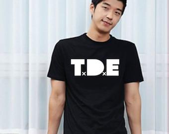 TDE Kendrick Lamar tde j cole retro entertainment  Top Dawg swag tshirt