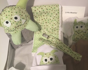 Little monster baby set