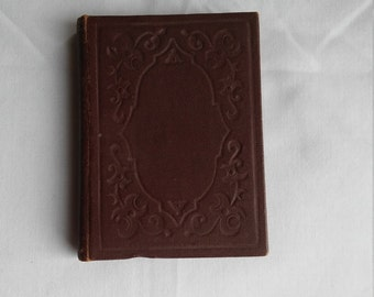 """Vintage Religous Miniature """"Daily Food for Christians"""" 192 pages in impeccable condition published by the American Tract Society, New York."""
