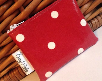 Dotty Dolittles Oilcloth Purse