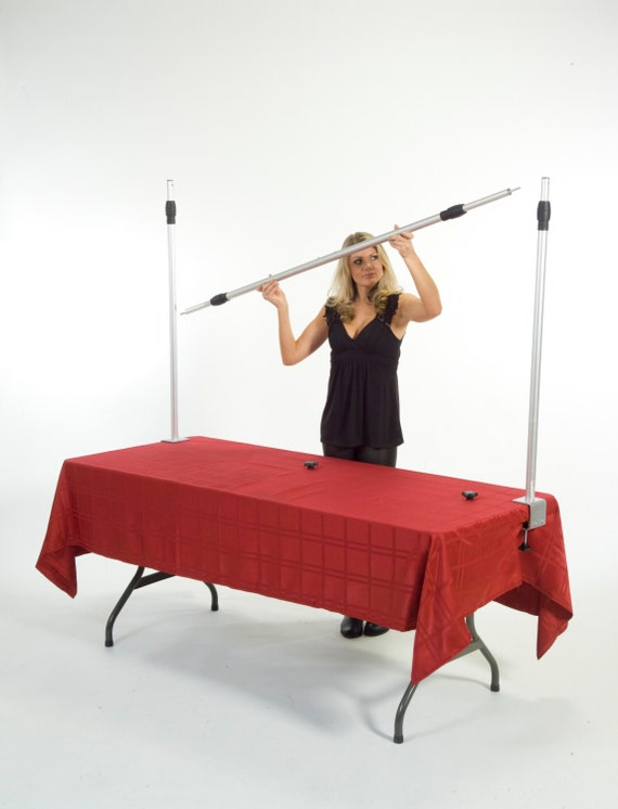 How To Hang A Banner Over A Table From Ezframecompany On