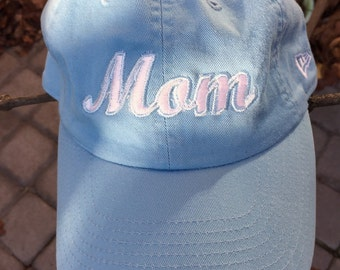 Beautiful embroidered MOM cap