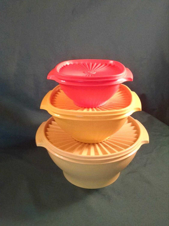 Vintage Servalier Tupperware Servalier Tupperware Vintage