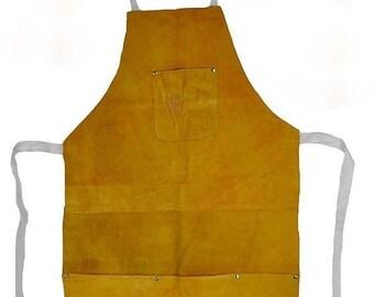 Leather Apron, Leather Blacksmith Apron, Leather Woodwork Apron