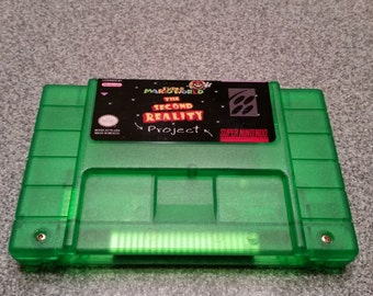 Super Mario world the second reality project snes super nintendo