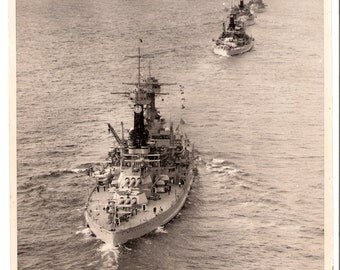 Vintage US Navy Battleships Pictures