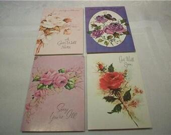 Lot Of 17 Vintage Greeting Cards Unused Fantasy Get Well