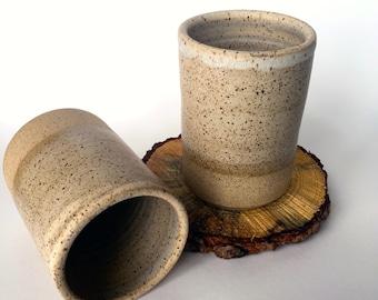 Oatmeal Ceramic Tumbler