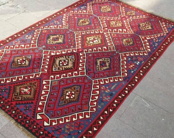 PERFECT CONDITION Rug.84x53 INCHES.Kurdish rug.