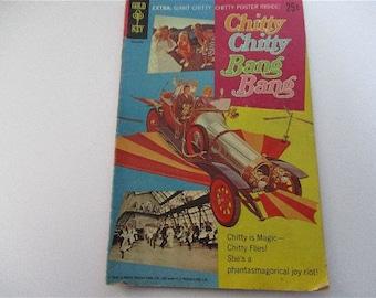 Vintage Gold Key Chitty Chitty Bang Bang Comic 1968