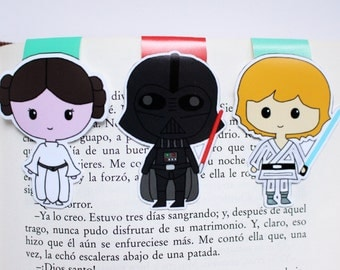 Star Wars Magnetic Bookmarks