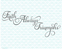 Christian Svg Files Religious Quote Svg Faith Svg Religious svg files samantha svg Samantha font svg dxf eps jpg for Silhouette and Cricut
