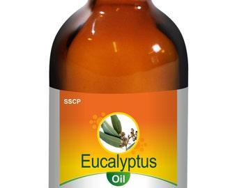 Eucalyptus Oil - Pure & Natural - 5 ml to 250 ml