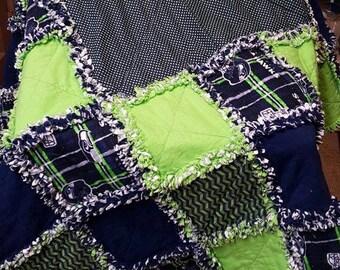Custom Rag Quilt