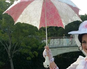 Ready to ship Mary poppins cosplay jolly holiday parasol umbrella costume accessory