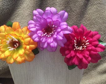 Floral Hair Clip 3 Pack- You Choose!