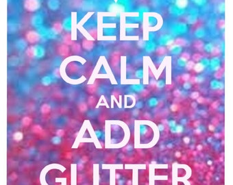 Add glitter to your item