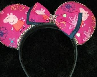 Peppa Pig Disney Inspired Ears