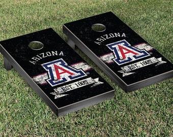 Arizona Wildcats Banner Cornhole Game Set