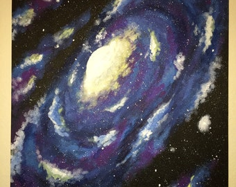 Cloudy Spiral Galaxy