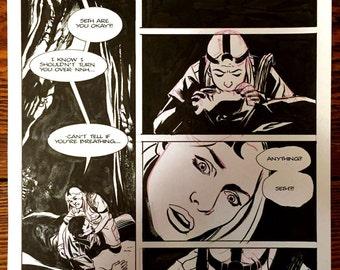 original art from Underground #2, page 2