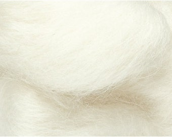 Blue Faced Leicester wool roving 1 OZ