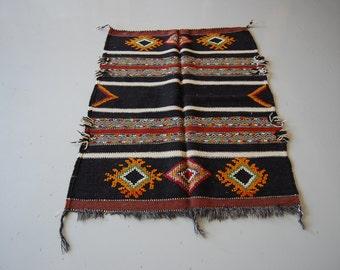 Vintage Moroccan Area Rug S68