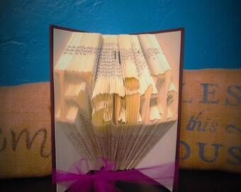 Faith Folded book - Christmas - Pastor - Confirmation - Baptisum - Mother - Father - NA -AA -