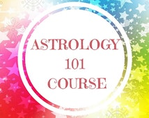 Astrology 101 Online Course // Self-Paced // Instructor Guidance // Certificate