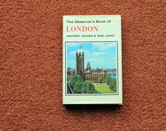 The Observer's Book of London - FIRST EDITION
