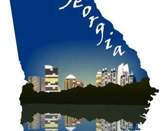 Georgia: Atlanta Skyline