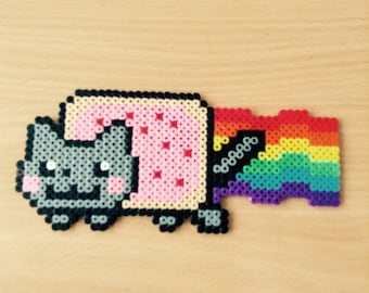 Nyan Cat Hama Art