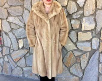 Vintage Evans Full Length Mink Coat