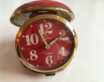 Vintage Travel Alarm Clock