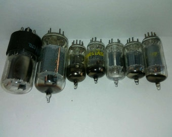Big lot vintage radio tubes Zenith Philips with two original boxes