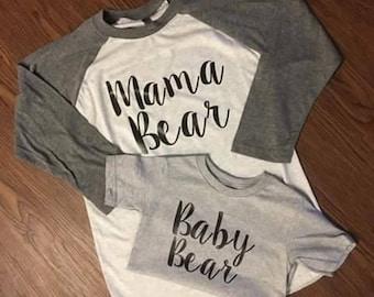 "Shop ""mama bear baby bear"" in Men's Clothing"