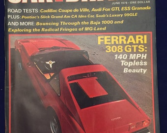 Car and Driver magazine June 1978