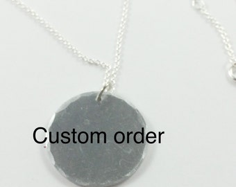 Custom build your own necklace